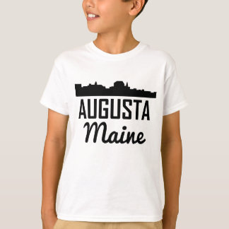 Augusta Maine Skyline T-Shirt