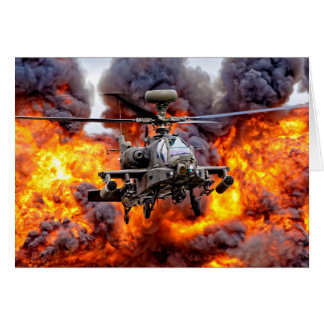 AugustaWestland Apache AH1 Card