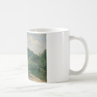 Auguste Renoir - A Road in Louveciennes Coffee Mug