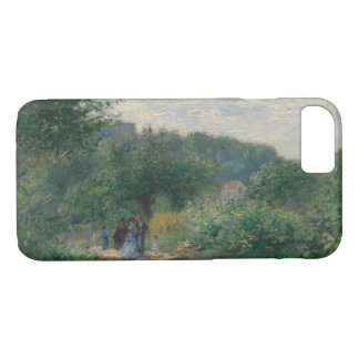 Auguste Renoir - A Road in Louveciennes iPhone 8/7 Case