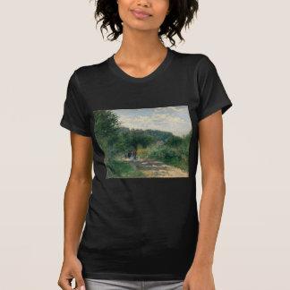 Auguste Renoir A Road in Louveciennes T-Shirt