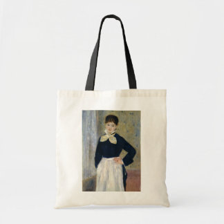 Auguste Renoir A Waitress at Duvals Restaurant Tote Bag