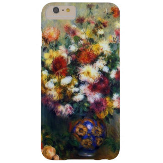 Auguste Renoir Chrysanthemums Fine Art Barely There iPhone 6 Plus Case