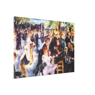 AUGUSTE RENOIR - Dance at Le moulin de la Galette Canvas Print
