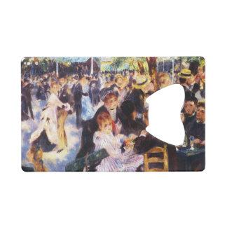 Auguste Renoir - Dance at Le moulin de la Galette Credit Card Bottle Opener