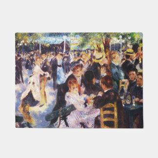Auguste Renoir - Dance at Le moulin de la Galette Doormat