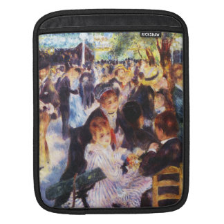 Auguste Renoir - Dance at Le moulin de la Galette iPad Sleeve