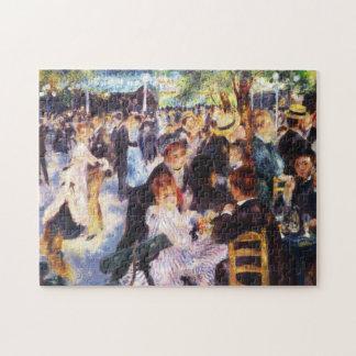 Auguste Renoir - Dance at Le moulin de la Galette Jigsaw Puzzle
