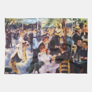 Auguste Renoir - Dance at Le moulin de la Galette Kitchen Towel