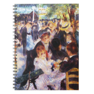 Auguste Renoir - Dance at Le moulin de la Galette Notebook