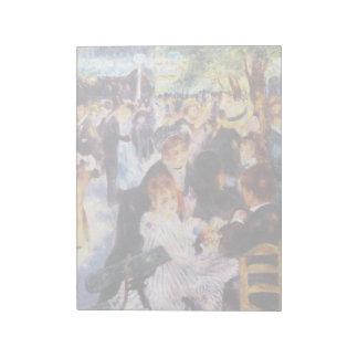 Auguste Renoir - Dance at Le moulin de la Galette Notepad
