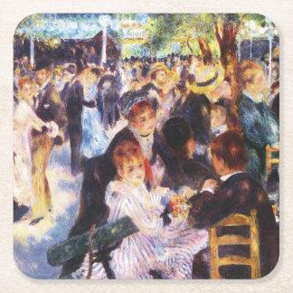 Auguste Renoir - Dance at Le moulin de la Galette Square Paper Coaster