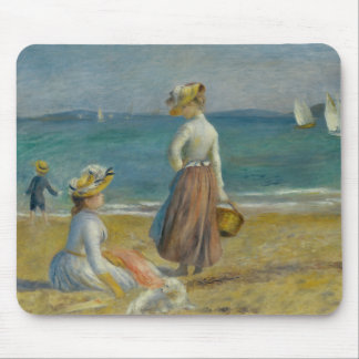 Auguste Renoir - Figures on the Beach Mouse Pad