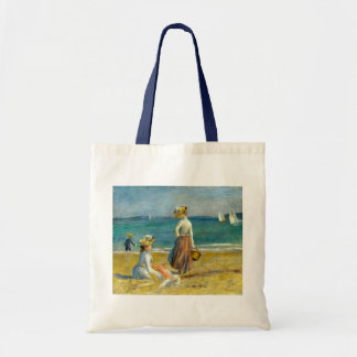 Auguste Renoir Figures on the Beach Tote Bag