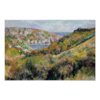 Auguste Renoir - Hills around the Bay Poster