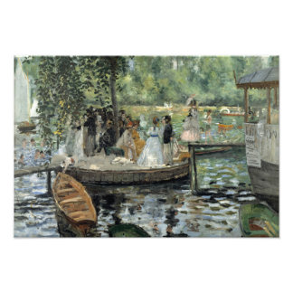 Auguste Renoir - La Grenouillere Tirages Photo