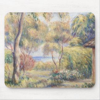 Auguste Renoir - Paysage a Cagnes Mouse Pad