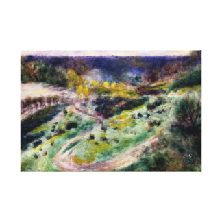 Auguste Renoir - Road at Wargemont Canvas Print