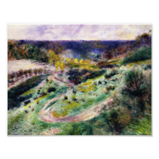 Auguste Renoir - Road at Wargemont Photographic Print
