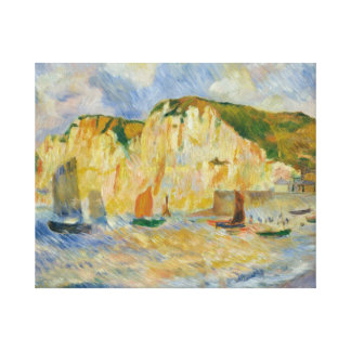 Auguste Renoir - Sea and Cliffs Canvas Print