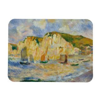 Auguste Renoir - Sea and Cliffs Magnet