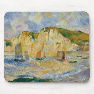Auguste Renoir - Sea and Cliffs Mouse Pad