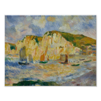 Auguste Renoir - Sea and Cliffs Poster