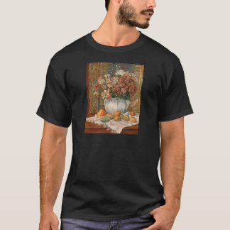 Auguste Renoir Still Life with Flowers and Prickly T-Shirt