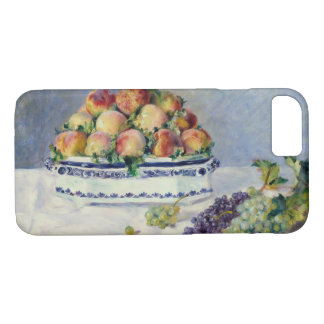 Auguste Renoir -Still Life with Peaches and Grapes iPhone 8/7 Case