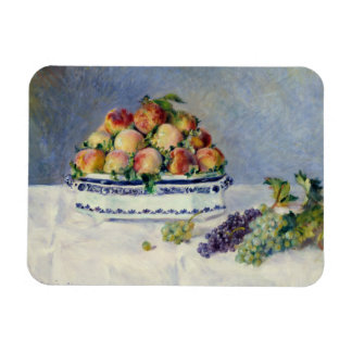 Auguste Renoir -Still Life with Peaches and Grapes Magnet