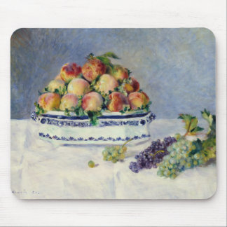 Auguste Renoir -Still Life with Peaches and Grapes Mouse Pad