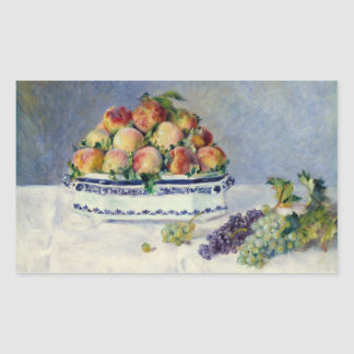 Auguste Renoir -Still Life with Peaches and Grapes Sticker
