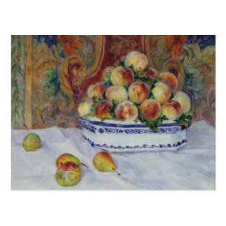 Auguste Renoir - Still Life with Peaches Postcard