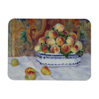 Auguste Renoir - Still Life with Peaches Rectangular Photo Magnet