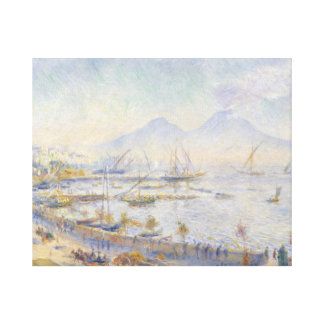 Auguste Renoir - The Bay of Naples Canvas Print