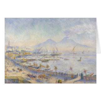 Auguste Renoir - The Bay of Naples Card