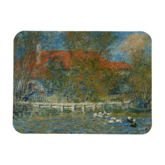 Auguste Renoir - The Duck Pond Magnet