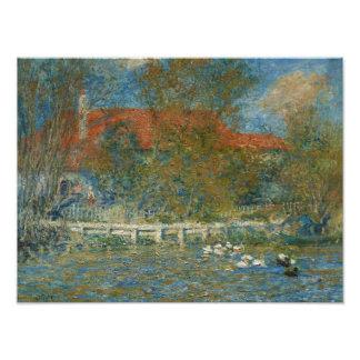 Auguste Renoir - The Duck Pond Photo Print
