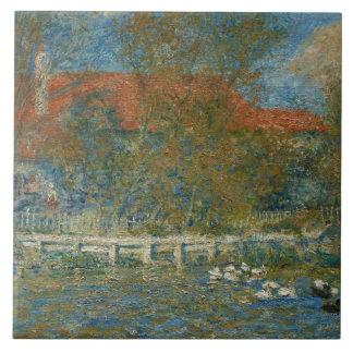 Auguste Renoir - The Duck Pond Tile