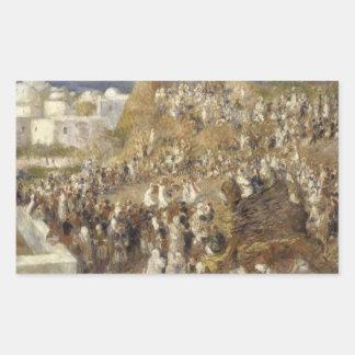 Auguste Renoir - The Mosque Sticker