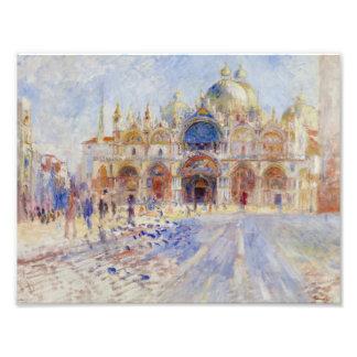 Auguste Renoir - The Piazza San Marco, Venice Art Photo