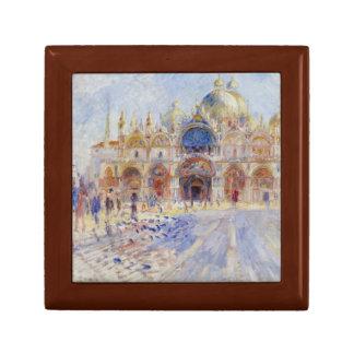 Auguste Renoir - The Piazza San Marco, Venice Keepsake Box