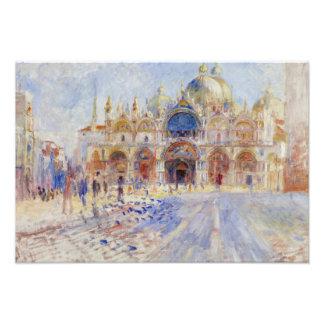 Auguste Renoir - The Piazza San Marco, Venice Photo Print