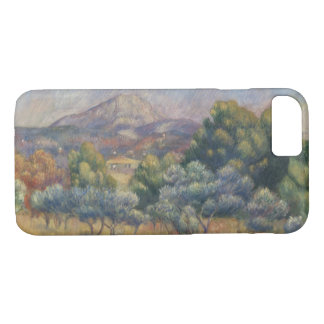 Auguste Renoir - The Sainte-Victoire Mountain iPhone 8/7 Case