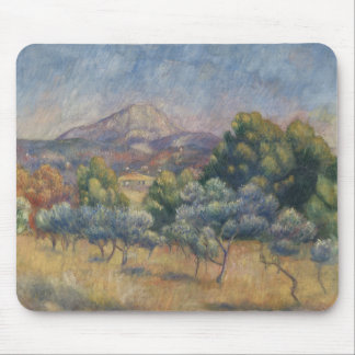 Auguste Renoir - The Sainte-Victoire Mountain Mouse Pad