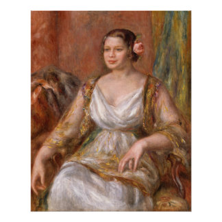 Auguste Renoir Tilla Durieux Poster