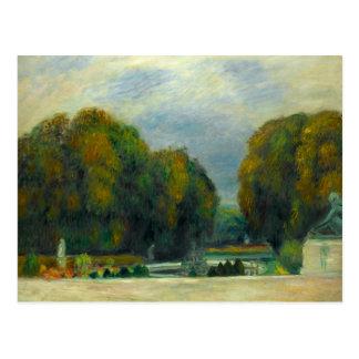 Auguste Renoir - Versailles Postcard