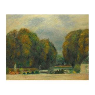 Auguste Renoir - Versailles Wood Print