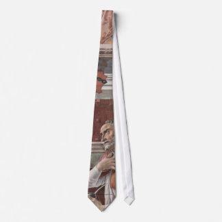 Augustine by Botticelli Tie