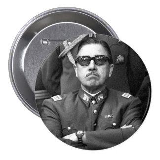 Augusto Pinochet 3 Inch Round Button